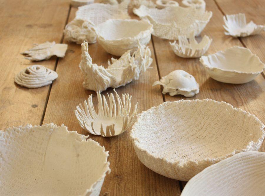 Cursos de Arte ao Sábado - Workshop de Cerâmica: Porcelana Líquida