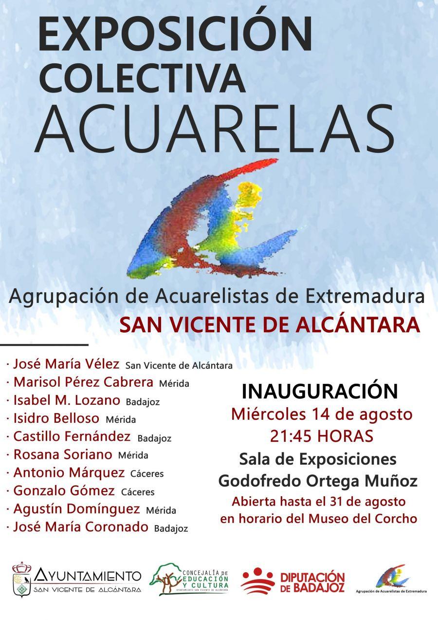 EXPOSICIÓN COLECTIVA DE ACUARELAS