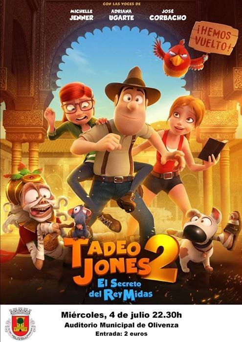 Cine Aupex: 'Tadeo Jones 2'