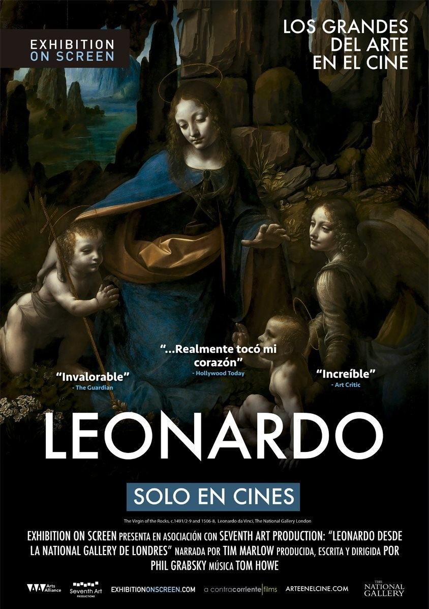 Exhibition on screen. Leonardo. Tim Marlow. Documental