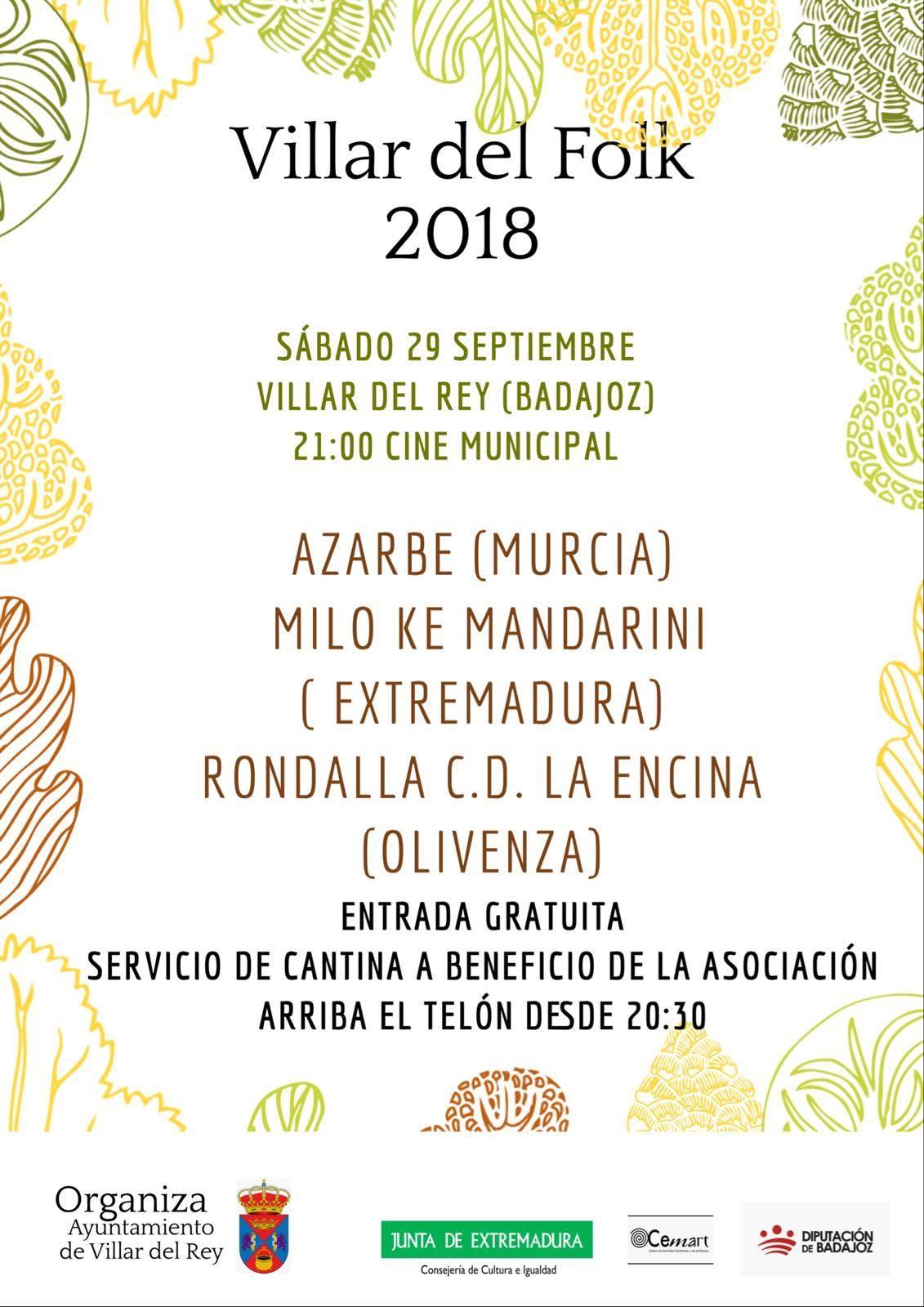 Villaar del Folk 2018