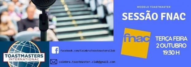 Sessão FNAC - Toastmasters Coimbra