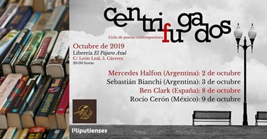 CENTRIFUGADOS Ciclo de Poesía Contemporánea (Rocío Cerón)