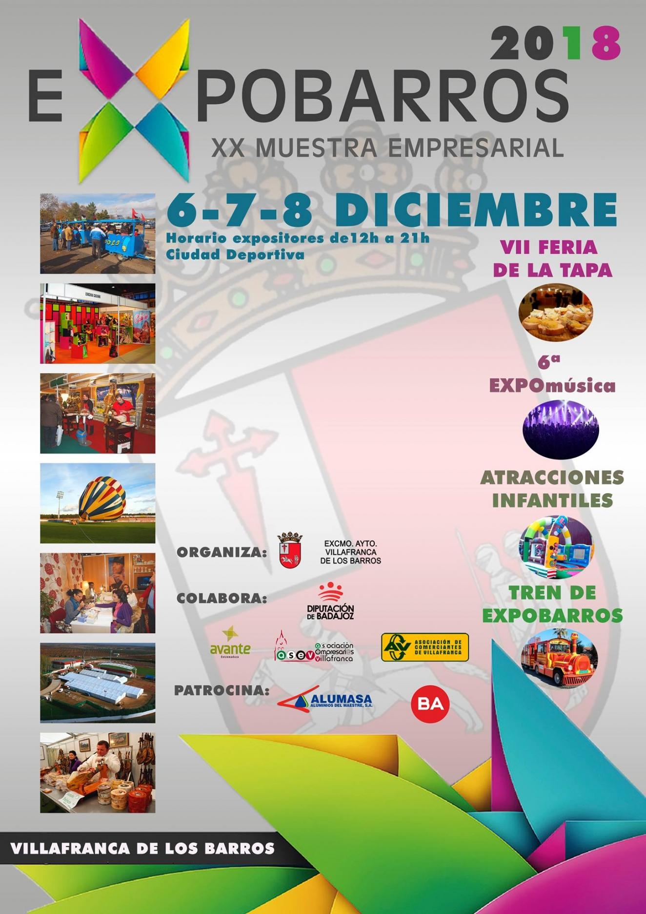Expobarros XX muestra empresarial
