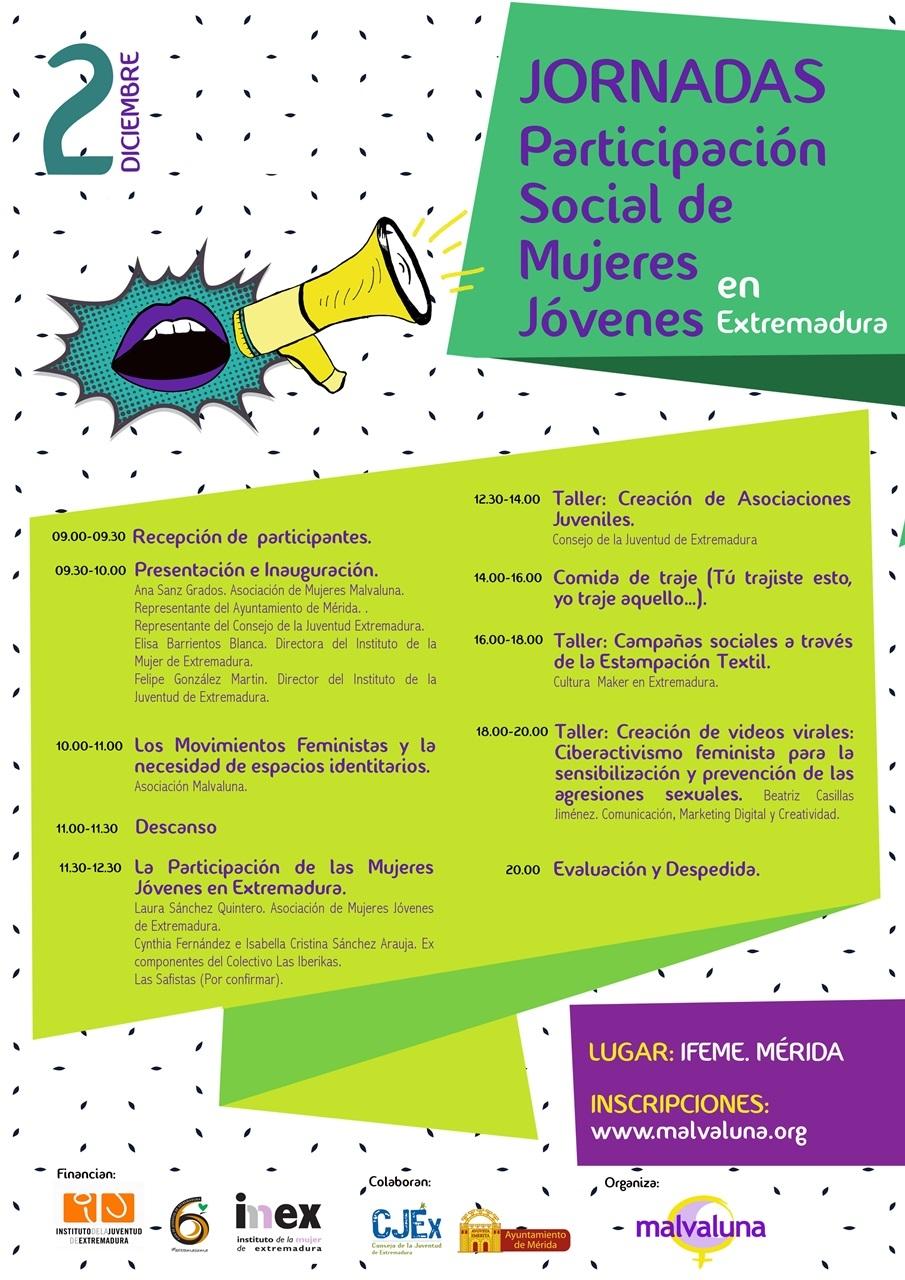 Jornadas de participación social de las mujeres en Extremadura