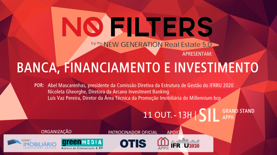 NO FILTERS debatem Banca, Financiamento e Investimento no SIL