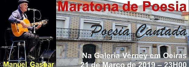 Maratona de Poesia - Poesia Cantada