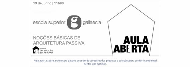 AULA ABERTA | NOÇÕES BÁSICAS DE ARQUITETURA PASSIVA