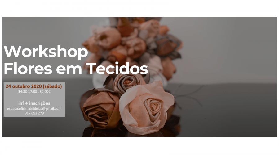 Workshop 'Flores em Tecido'
