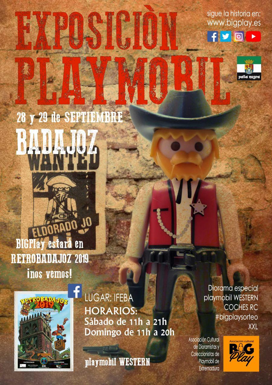 Exposición Playmobil en RETROBADAJOZ 2019