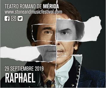 RAPHAEL  ||  STONE & MUSIC FESTIVAL | Mérida 2019