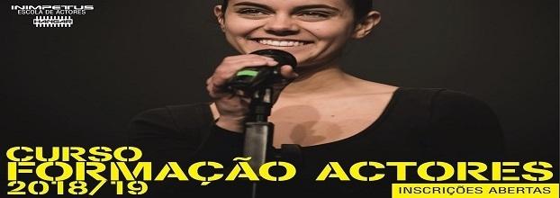 2ª FASE DE INSCRIÇÕES // Curso de Formação de Actores 2018/2019