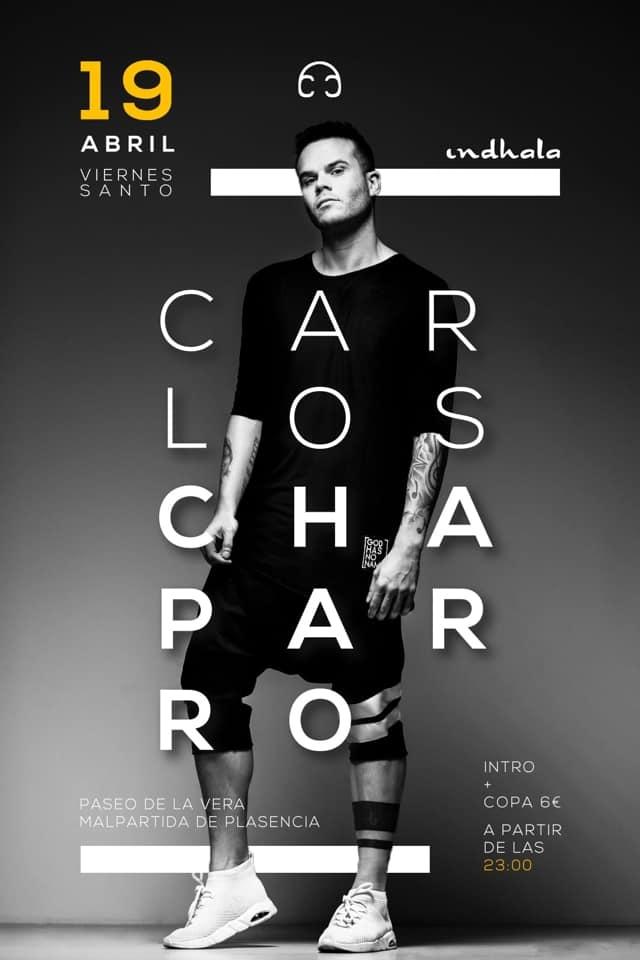 Carlos Chaparro en Pub Indhala | Malpartida de Plasencia