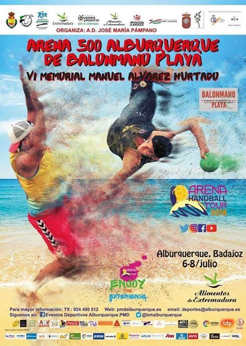 VI Open de Balonmano Playa 'Memorial Manuel Álvarez Hurtado'