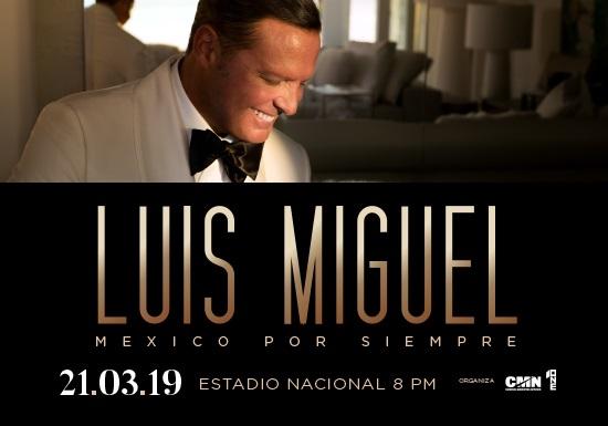México por siempre. Luis Miguel. Cantante, baladas
