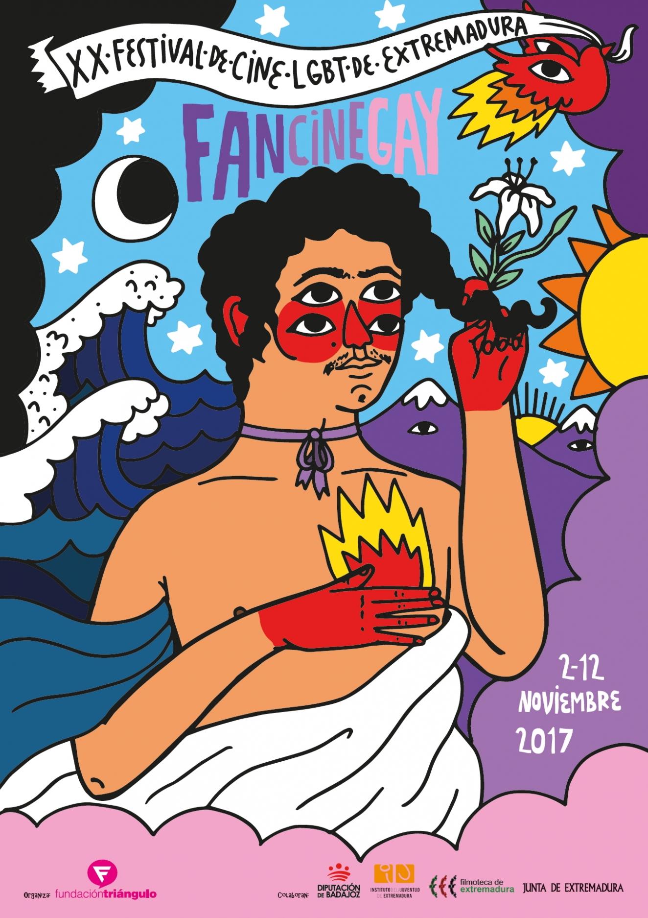 FANCINEGAY // del 2 al 12 de Noviembre // XX Festival de Cine LGBT de Extremadura