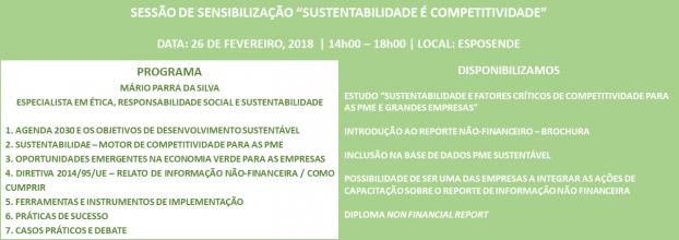 Sessão | PME Sustentável - Competitividade é Sustentabilidade