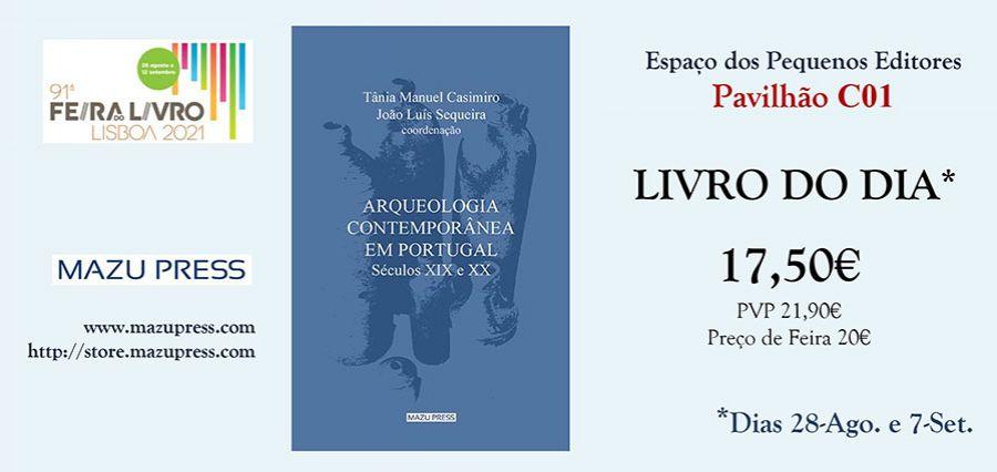 LIVRO DO DIA ed. Mazu Press   Feira do Livro de LISBOA   Espaço dos Pequenos Editores (Pav. C01)