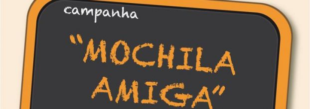 MOCHILA AMIGA: CAMPANHA DE RECOLHA DE MATERIAL ESCOLAR