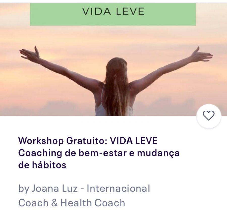 Workshop Gratuito Coaching - Hábitos novos, vida nova