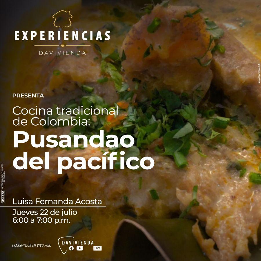 Cocina tradicional de Colombia: Pusandao del pacífico