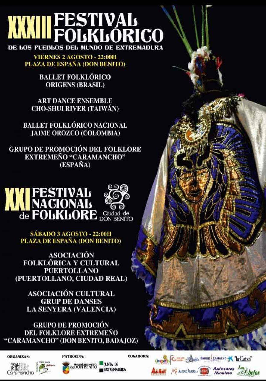 XXXIII Festival Folklórico de los Pueblos del Mundo