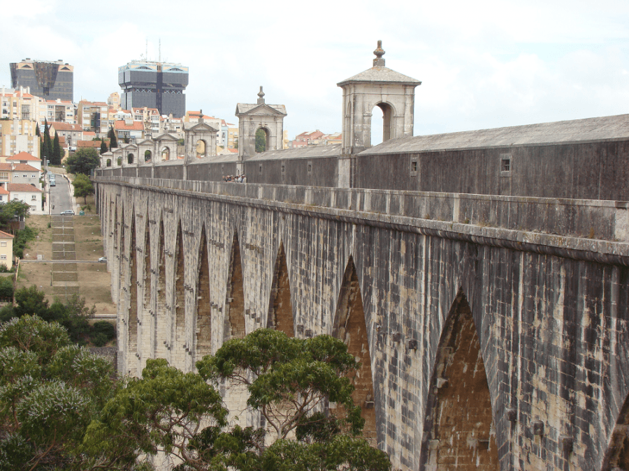 Roteiro Aqueduto: dos Arcos Vale de Alcântara às Amoreiras