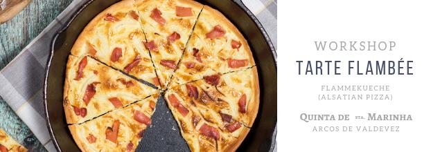 Workshop - Tarte Flambée (Flammekueche - Alsatian Pizza)