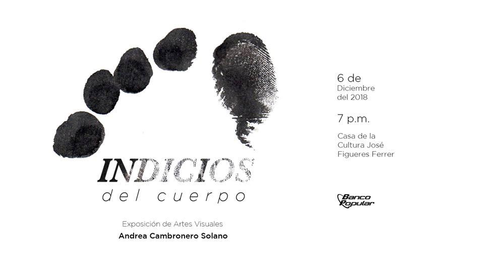 Inauguración. Indicios del cuerpo. Andrea Cambronero. Dibujo