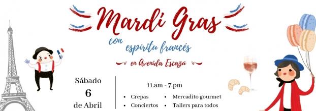 Mardi gras francés. Cultura y gastronomía