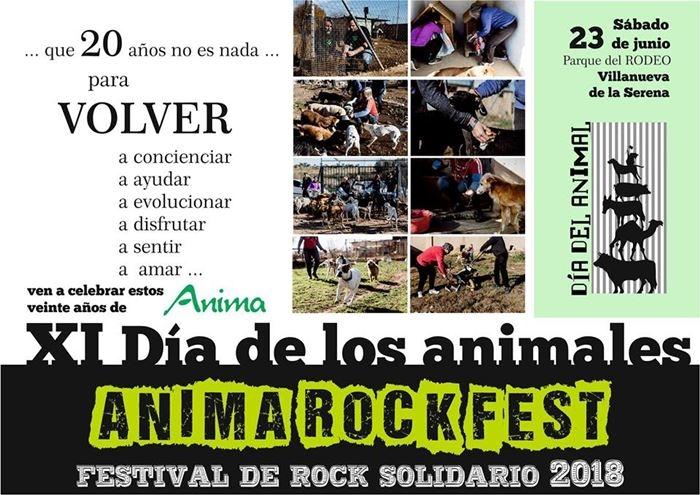 III Anima Rock Fest || Festival de Rock Solidario en Villanueva de la Serena