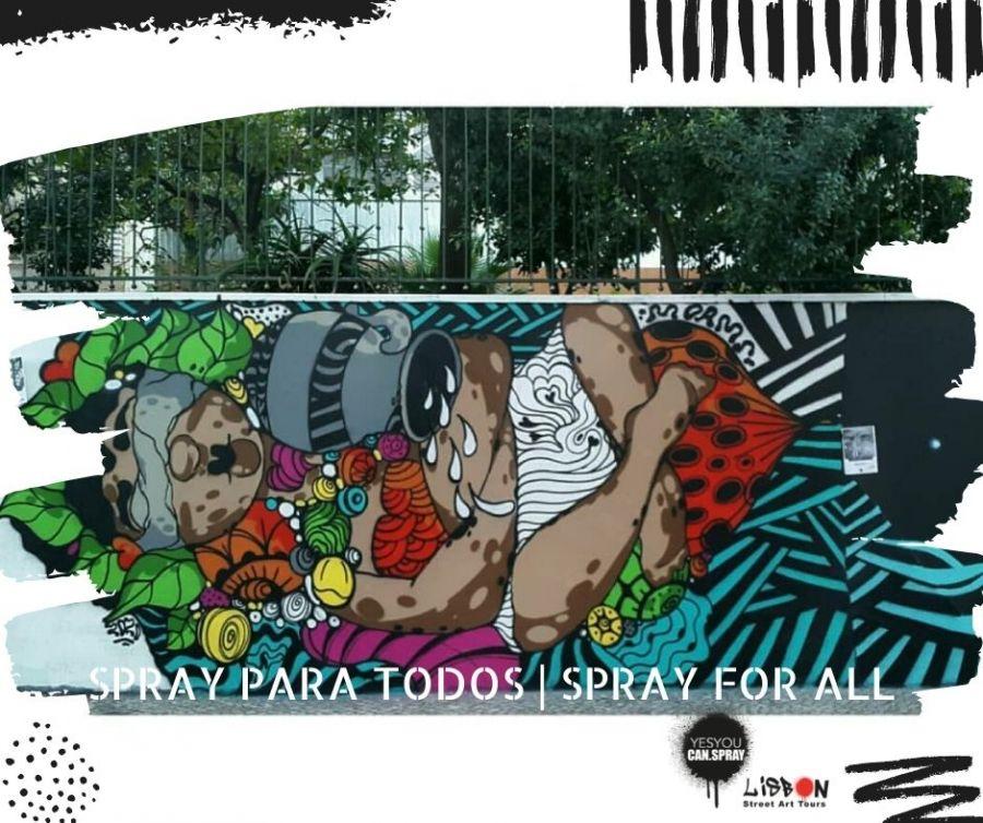 SPRAY for ALL | Graffiti Workshop