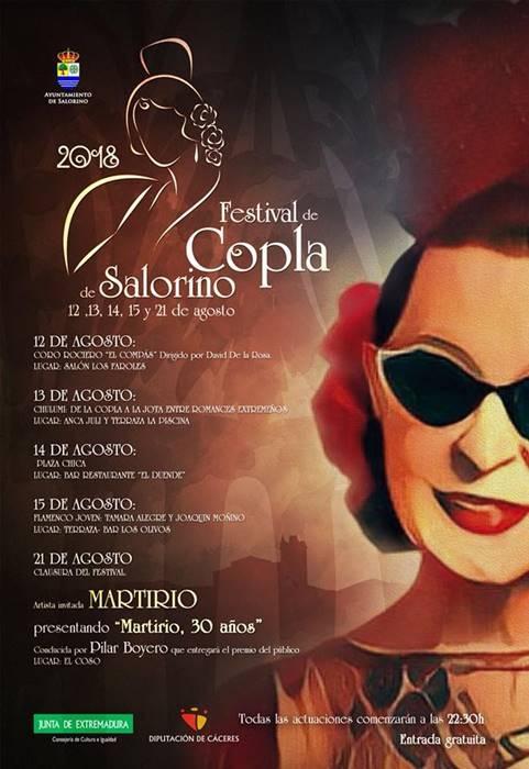 Festival de Copla de Salorino 2018
