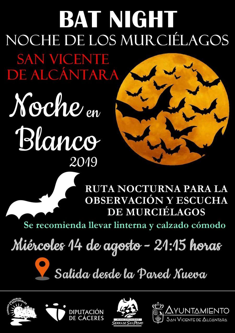 BAT NIGHT 'NOCHE DE LOS MURCIÉLAGOS'