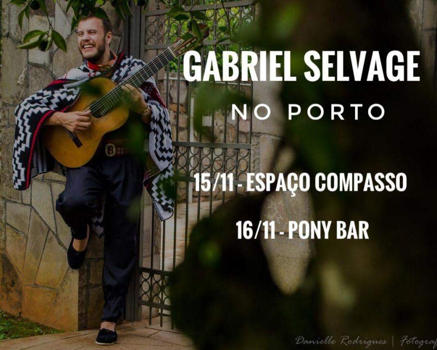 Gabriel Selvage no Porto