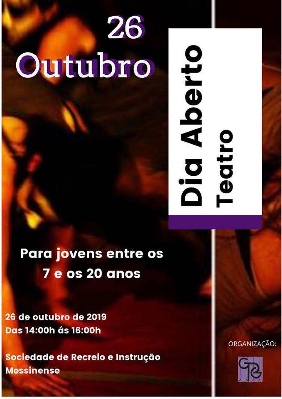 Dia Aberto - Teatro