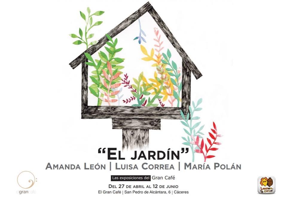 'EL JARDÍN' // Exposición de Amanda León, Luisa Correa y María Polán