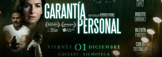 Proyección GARANTÍA PERSONAL (Rodrigo Rivas, España)