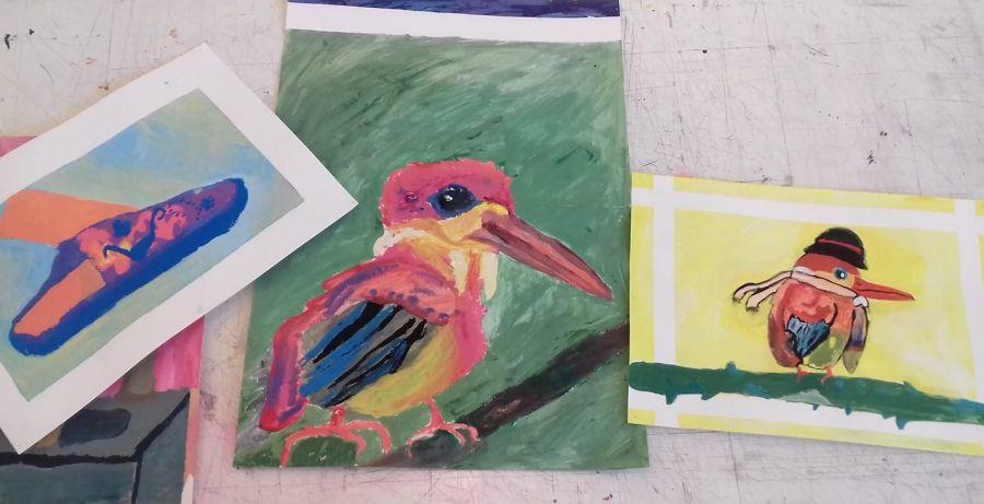 SÁBADOS Atelier para Jovens dos 9 aos 13 anos – Investigar a Natureza na Primavera - através da Ilustração (à distância)