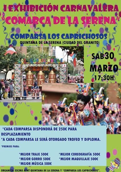 I EXHIBICIÓN CARNAVALERA COMARCA DE LA SERENA