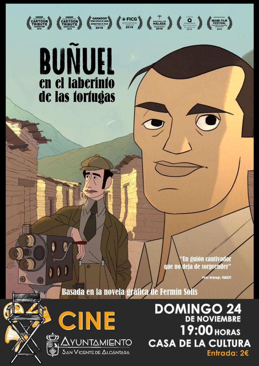 CIINE: 'BUÑUEL EN EL LABERINTO DE LAS TORTUGAS'
