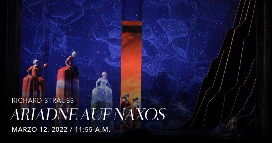 Ariadne Auf Naxos (R. Strauss). Met Live in HD