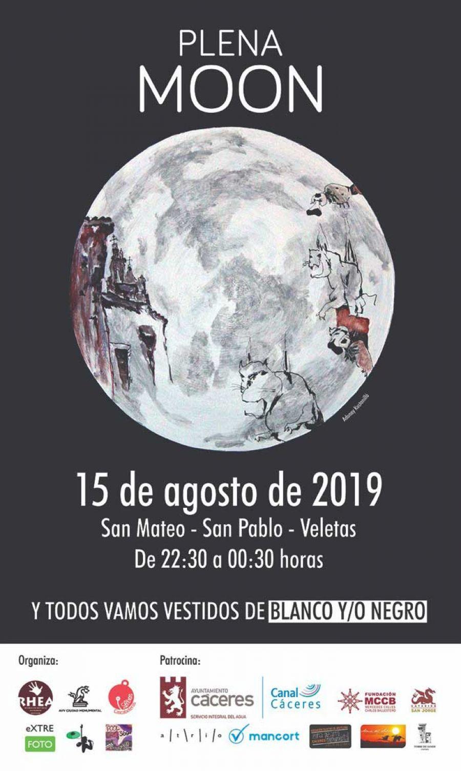 Plena MOON Cáceres 2019 | AGOSTO