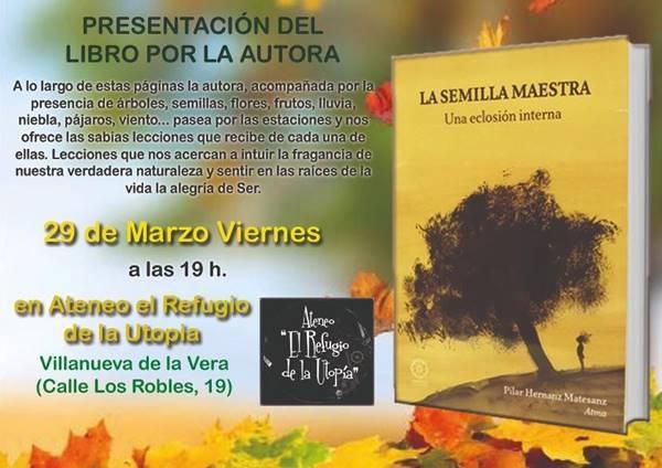 Presentación: La Semilla, de Pilar Hernanz