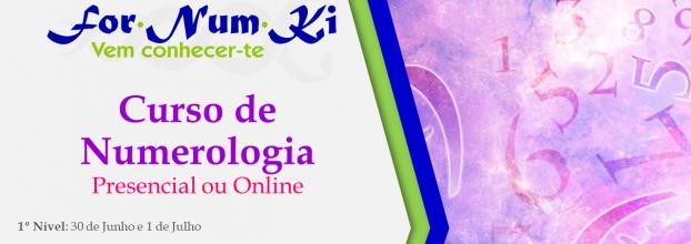 Curso de Numerologia - Presencial ou Online