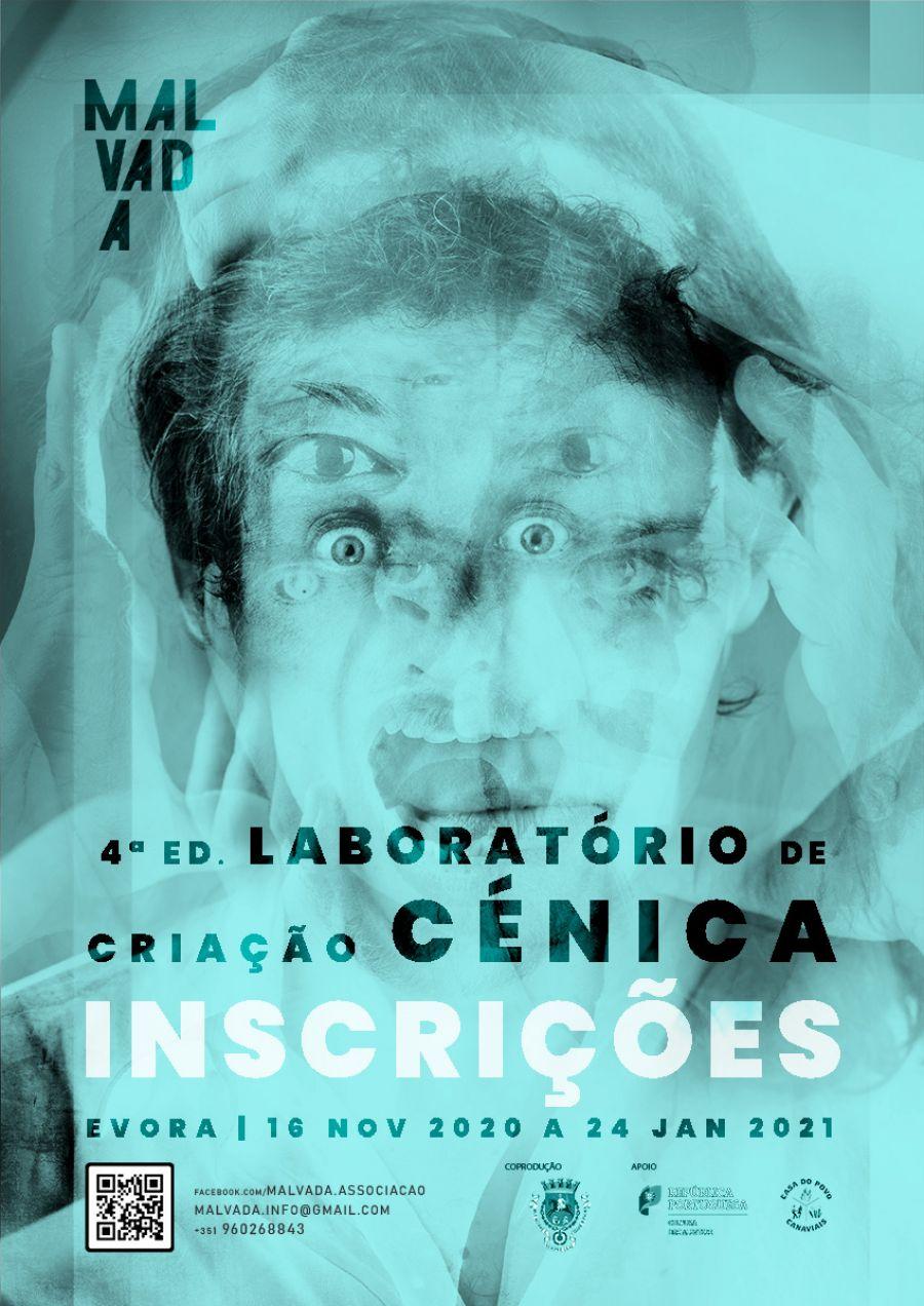 INSCRIÇÕES _Laboratório de Criação Cénica - 4ª Ed.