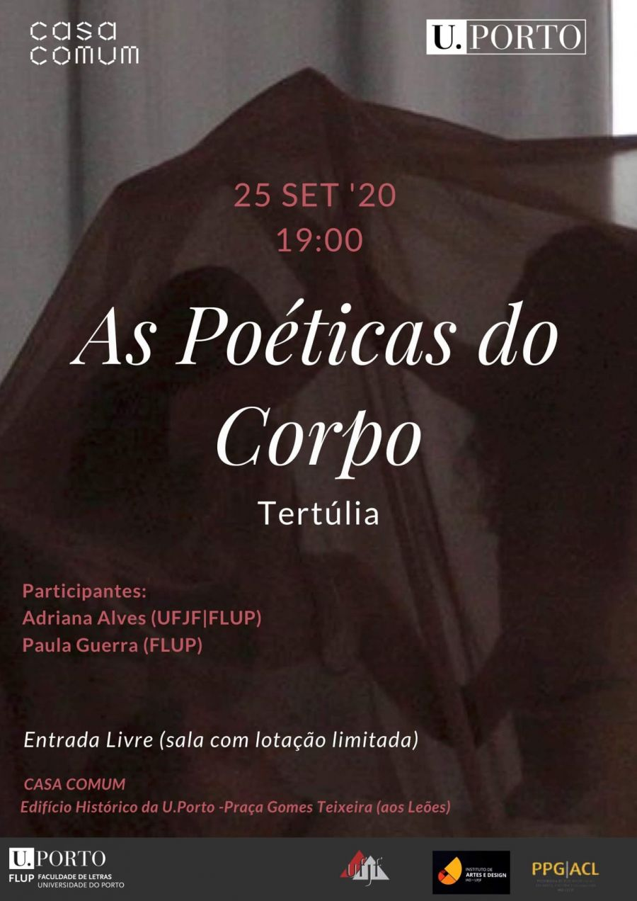 Tertúlia: As Poéticas do Corpo