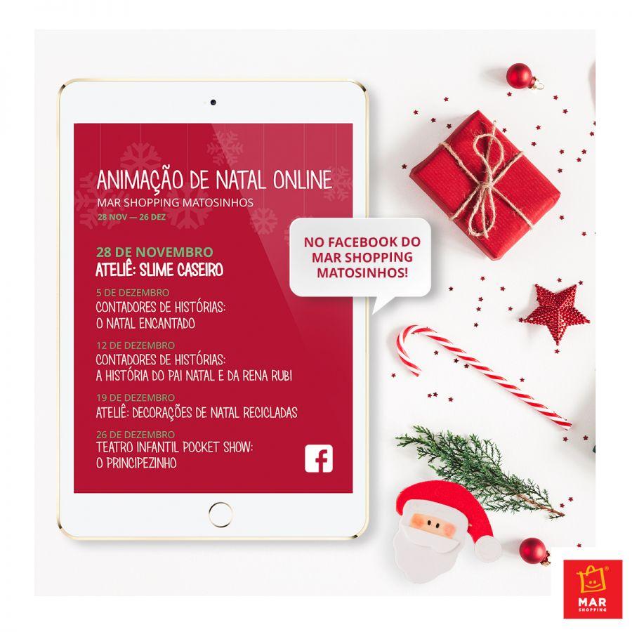 Ateliês, histórias e teatro infantil - com o MAR Shopping Matosinhos, a magia do Natal também se vive online