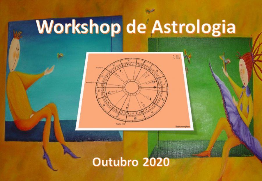 Workshop de Astrologia - Retorno Solar + Profecção