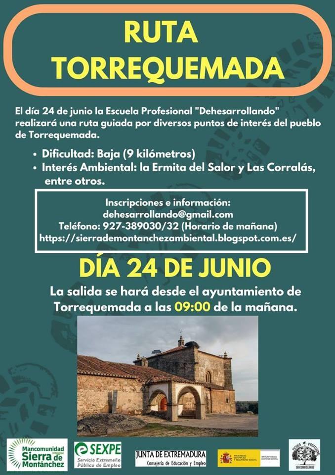 Ruta de Interés Ambiental en Torrequemada